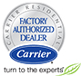 Factory Authorized Carrier Dealer