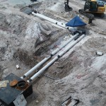 chilled water piping installation