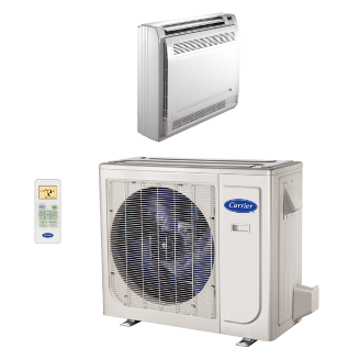 Performance™ Ductless Floor Console Heat Pump System 38MAQ/40MBF