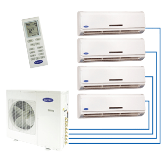Performance™ Residential Ductless Multi-Split Heat Pump System 38/40GVM