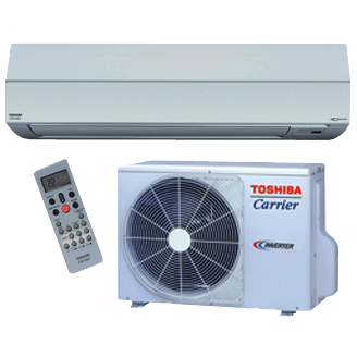 Toshiba Carrier Residential Ductless Highwall Heat Pump System RAS-LAV/LKV