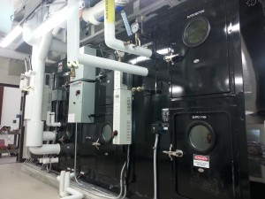 Haakon unit installed in mechanical room