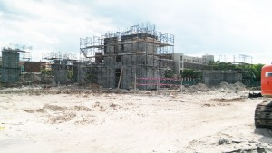 UCF IRI Exterior Under Construction
